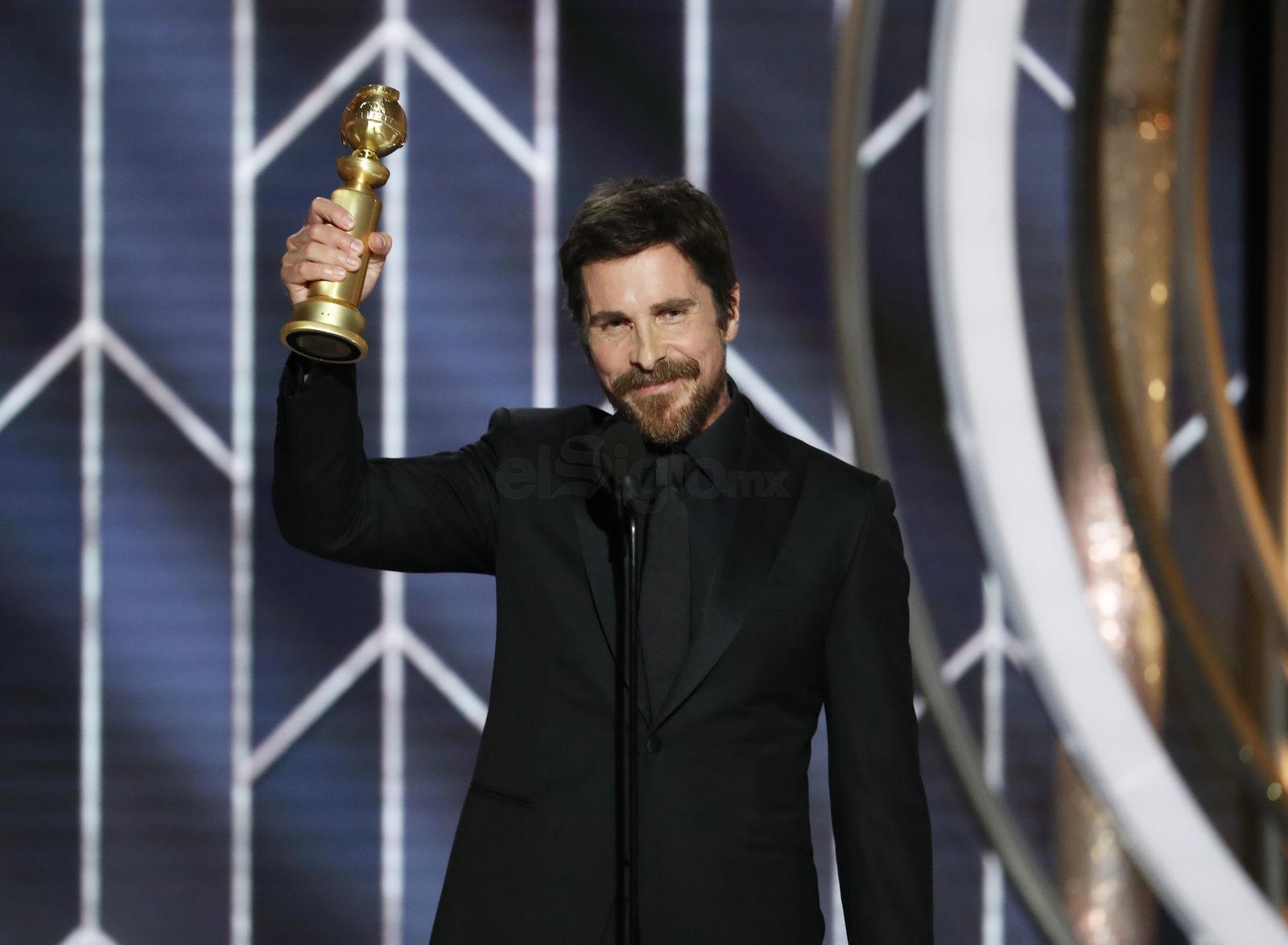 """El premio de Mejor actor de una película de comedia o musical se lo llevó Christian Bale por """"Vice""""."""