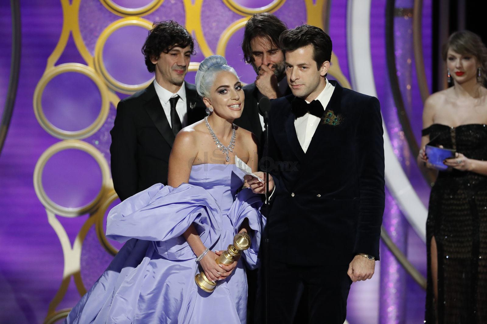 La noche se completó con el premio a la mejor canción original para Shallow (de A Star is Born), que fue a parar a Lady Gaga, Mark Ronson, Anthony Rossomando y Andrew Wyatt.