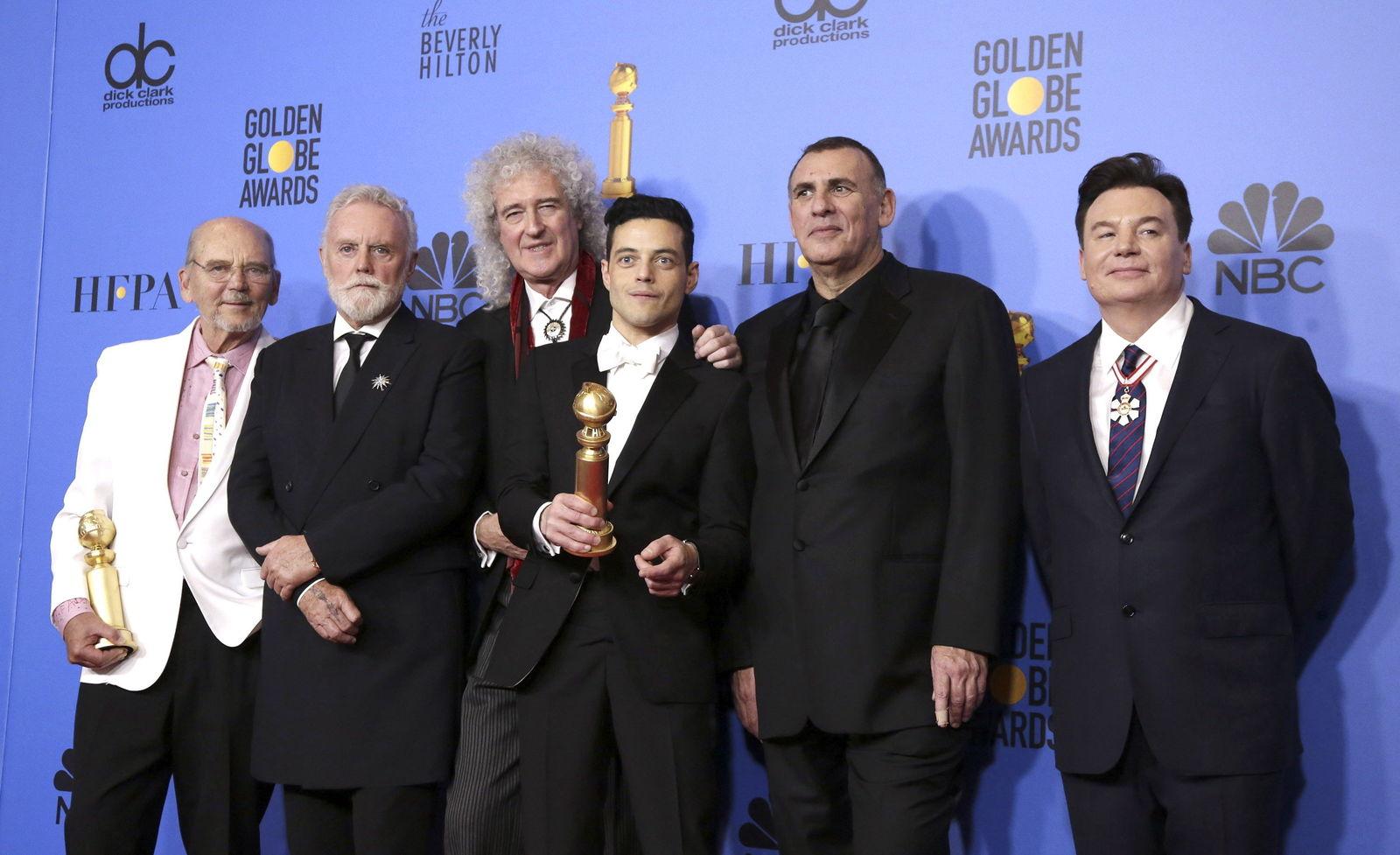 Bohemian Rhapsody sorprendió a propios y extraños alzándose con la estatuilla a la Mejor Película de drama.