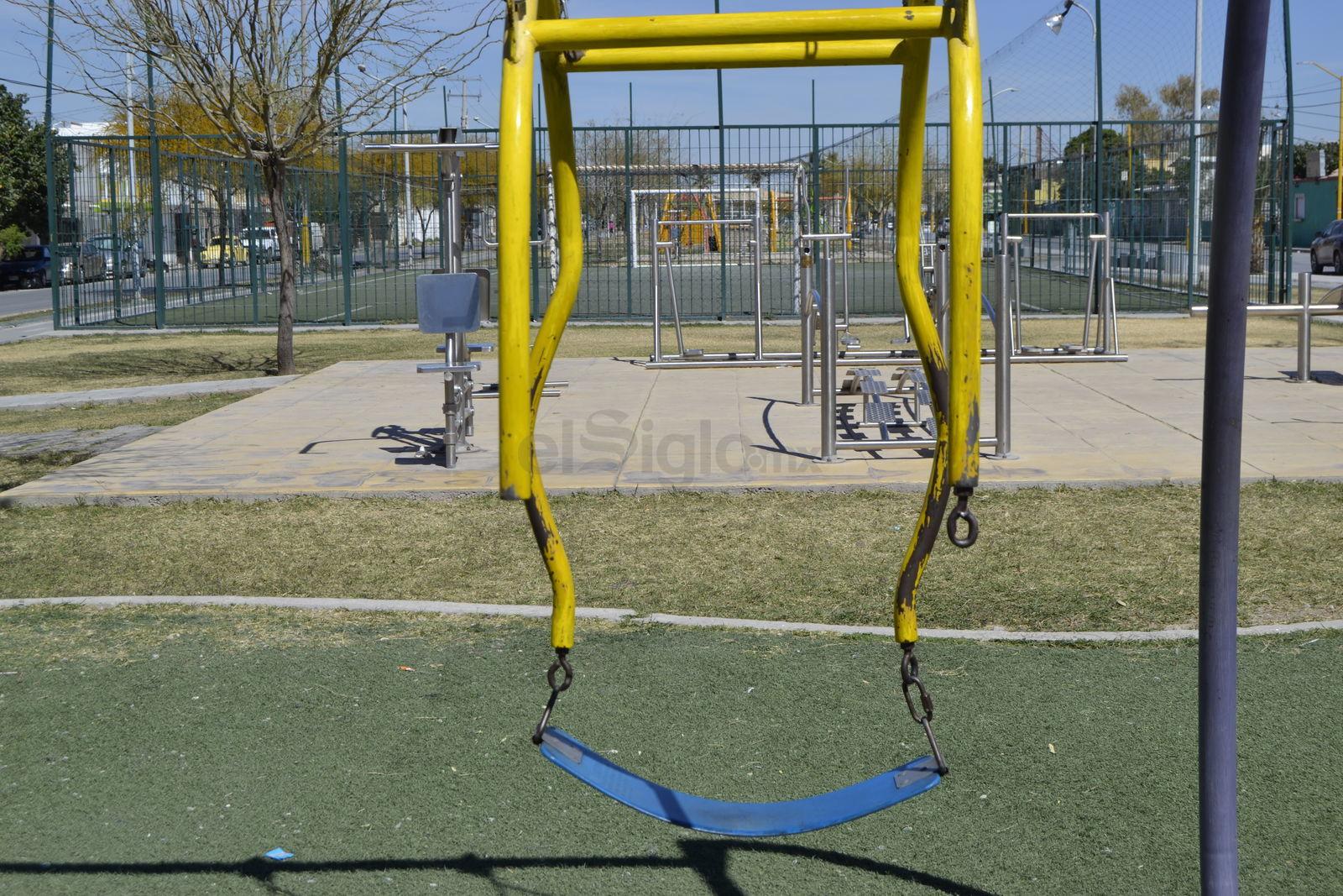 Juegos y aparatos dañados. Los juegos infantiles y los aparatos para hacer ejercicio han sido dañados en varias ocasiones, por lo que las autoridades se han visto en la necesidad de reponerlos, aunque no en todos los casos. Vecinos dicen que le hace falta mayor vigilancia al lugar.