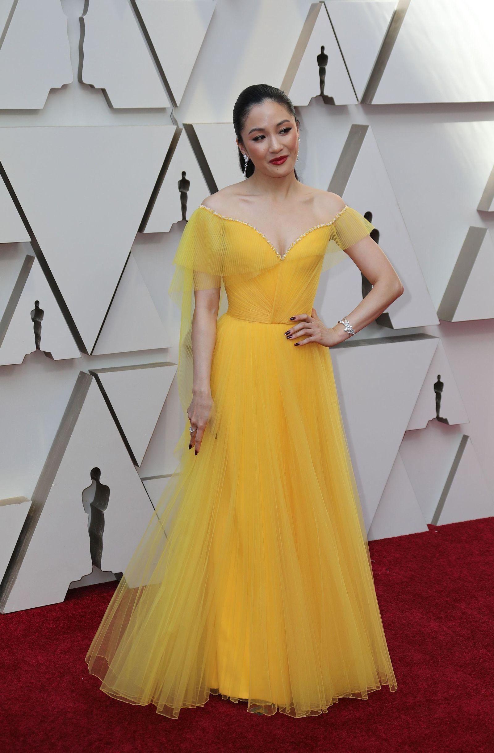 La actriz estadounidense Constance Wu.