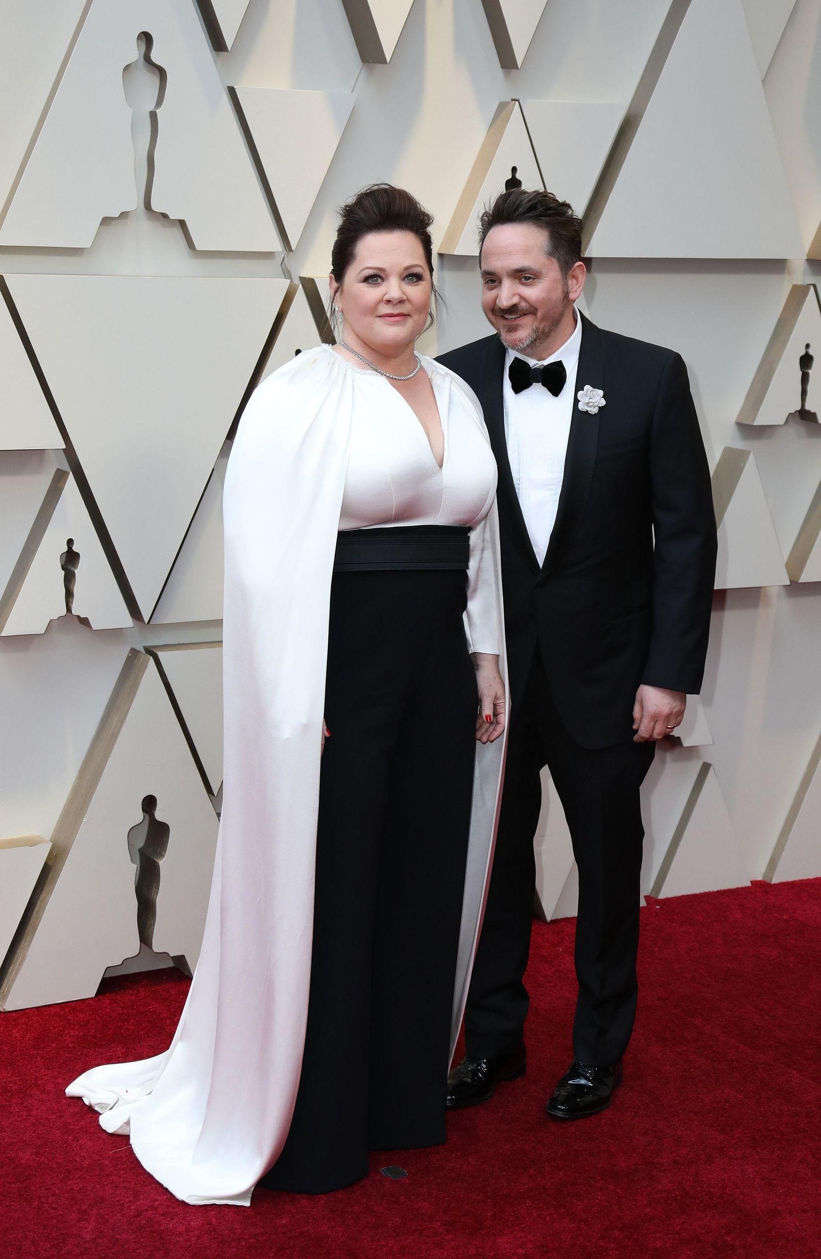 Los actores estadounidenses Ben Falcone y Melisa McCarthy