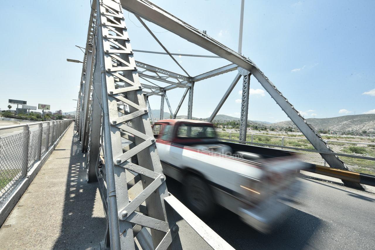 Icónicos. Muchos de estos puentes son parte de la historia, en principio estando sobre el lecho seco del Río Nazas.