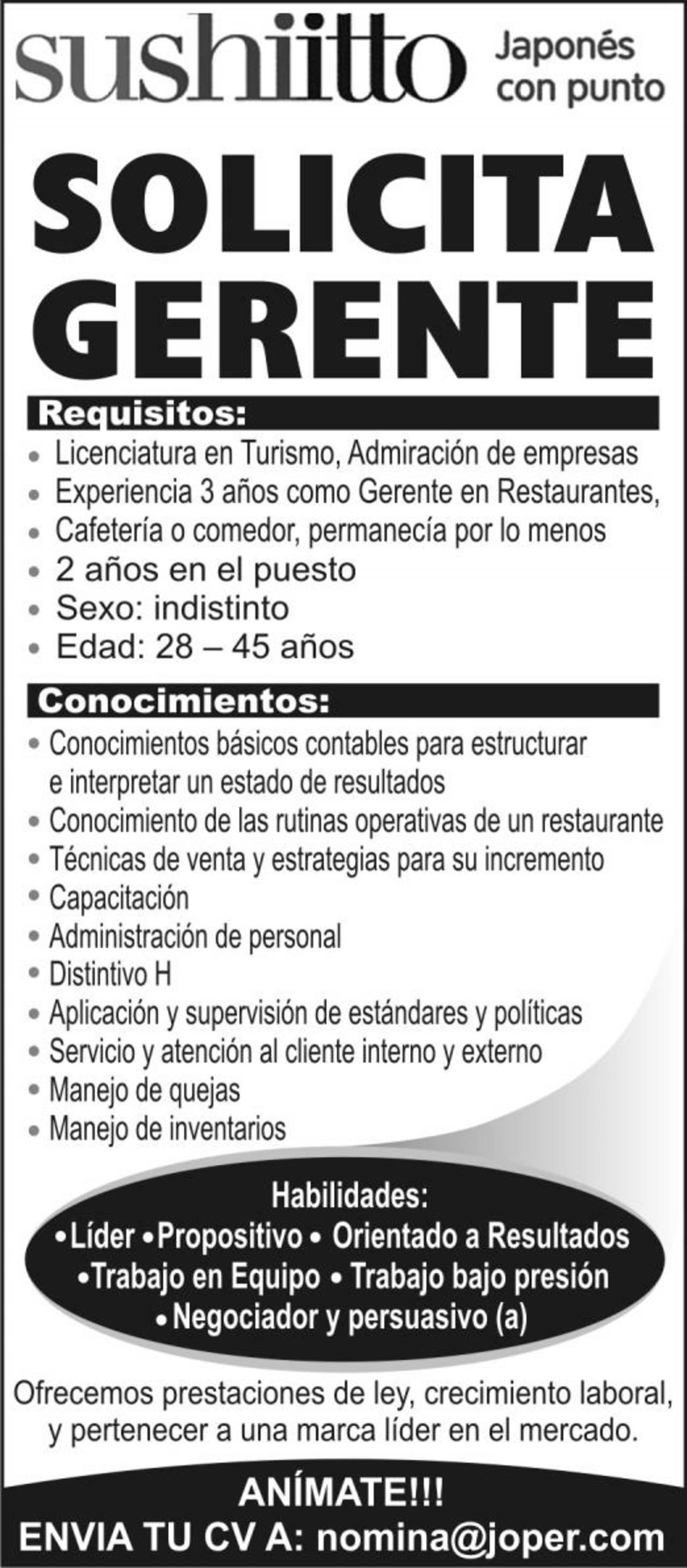 Increíble Currículum Del Gerente Del Restaurante Festooning ...