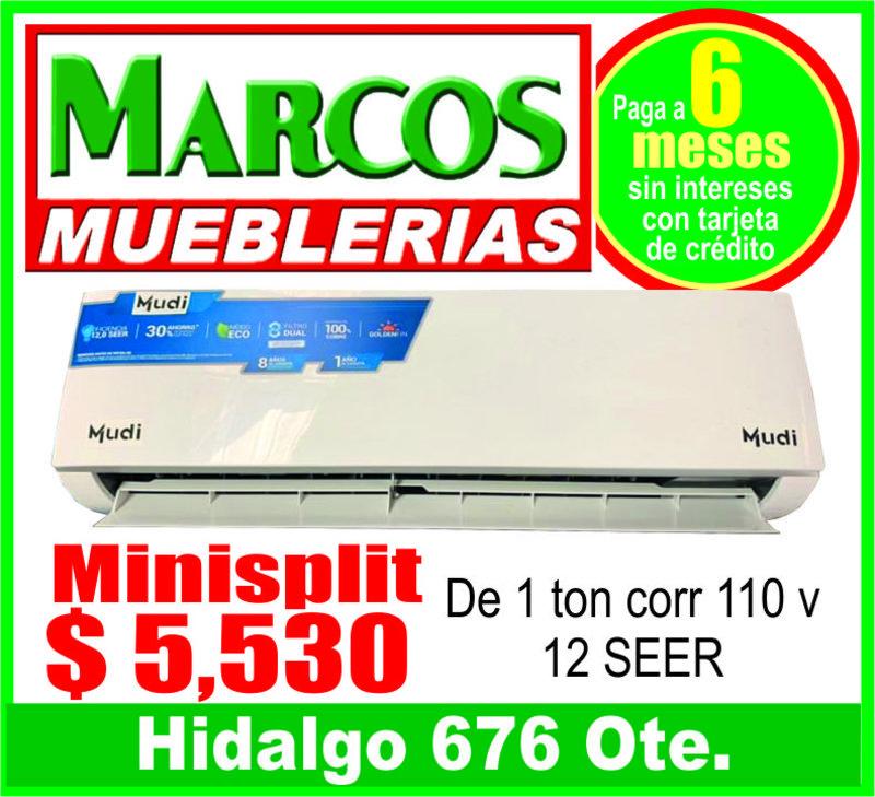 MARCOS MUEBLERIAS