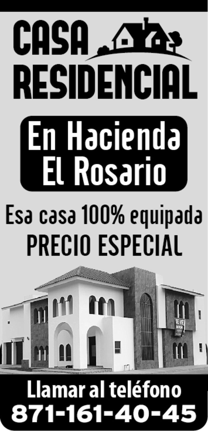 VENTA DE CASA RESIDENCIAL