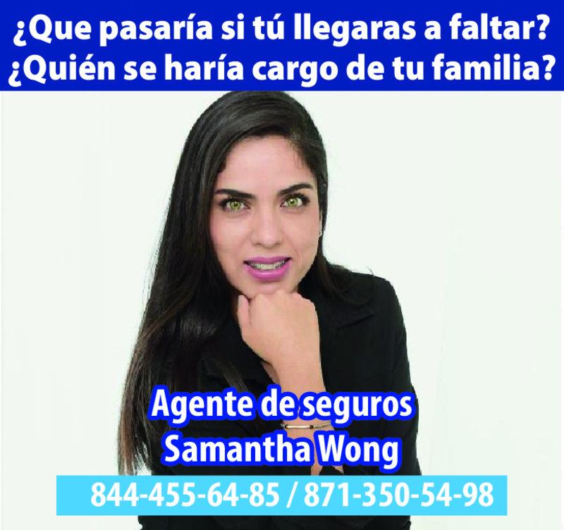 SAMANTHA WONG SEGUROS