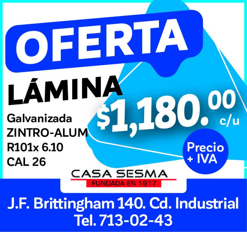 OFERTA LAMINA 1180