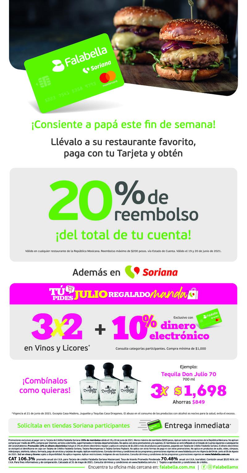 T/C / IMPAR / TIENDAS SORIANA