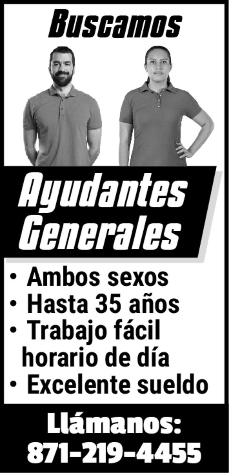 AYUDANTES GENERALES