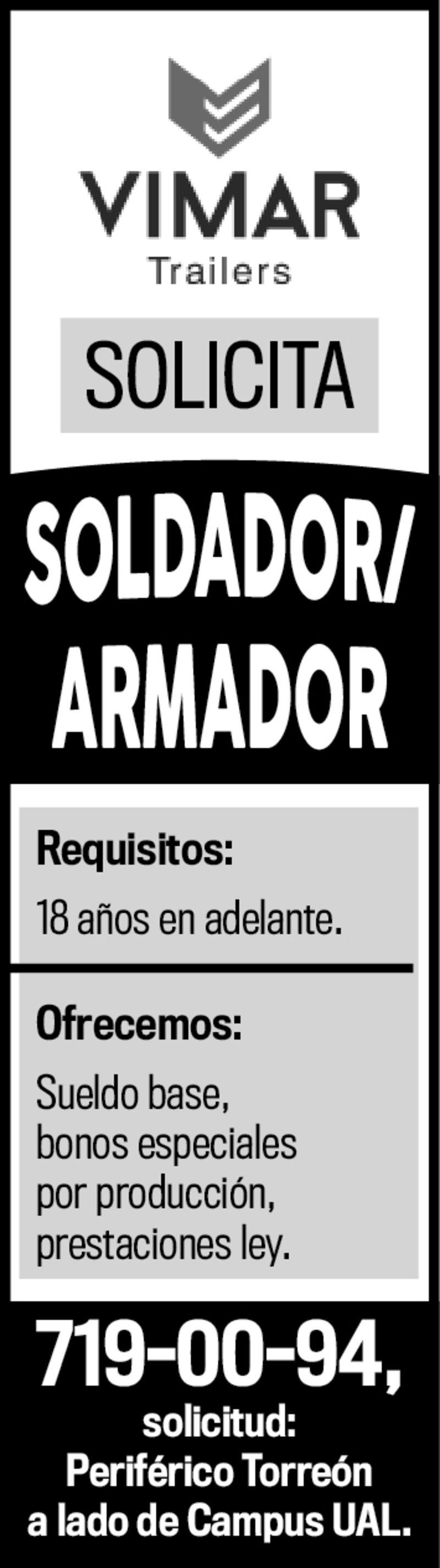 SOLDADOR ARMADOR