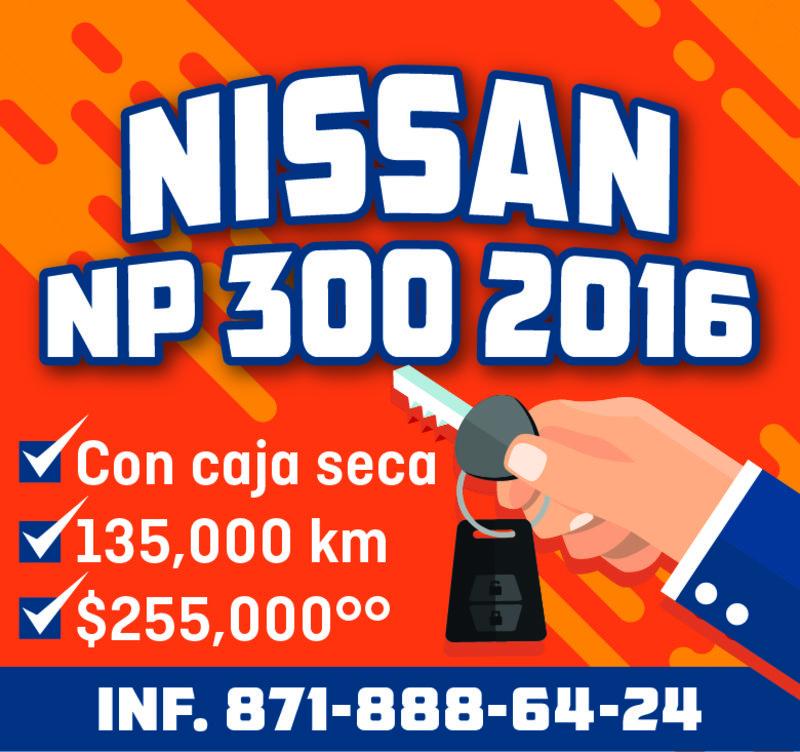 NISSAN NP 300 2016