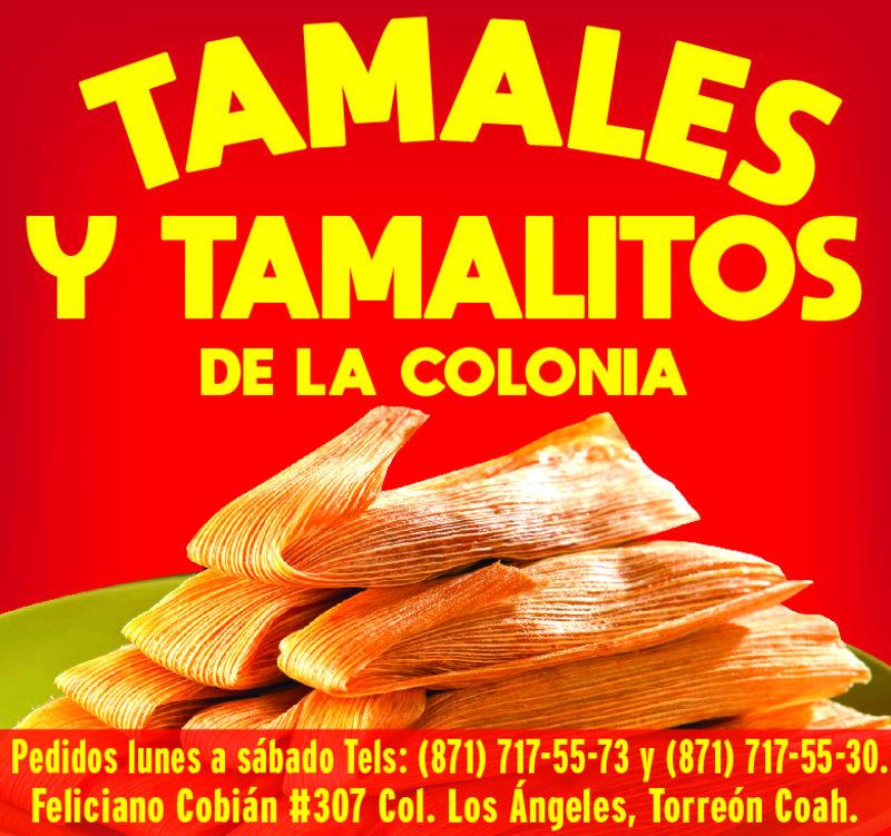 TAMALES Y TAMALITOS