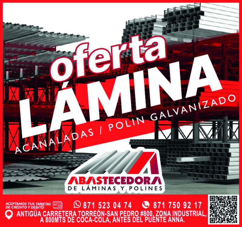 ABASTECEDORA DE LAMINAS / PUBLICIDAD