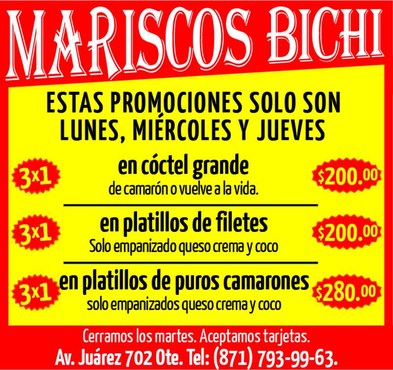 MARISCOS BICHI