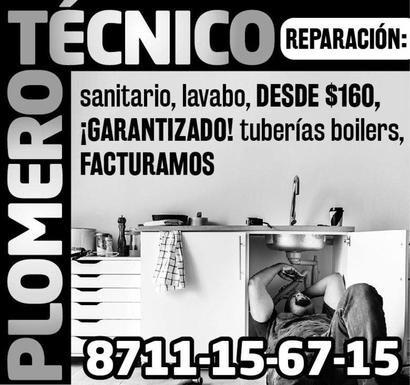 TÉCNICO / PLOMERO