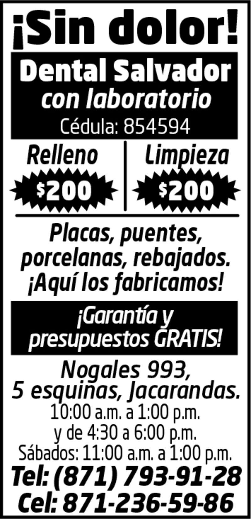 DENTAL SALVADOR
