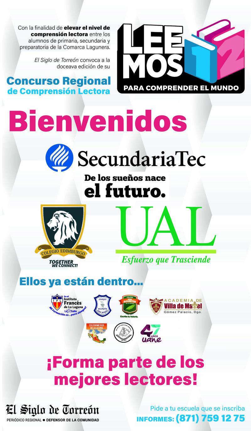 Robaplana Bienvenida Colegios