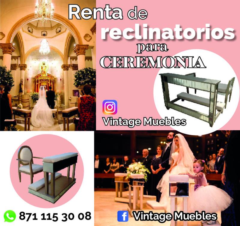 RENTA RECLINATORIOS