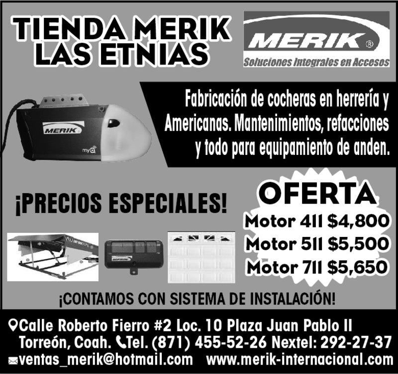 TIENDAS MERIK