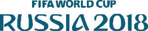 logo Rusia 2018 azul