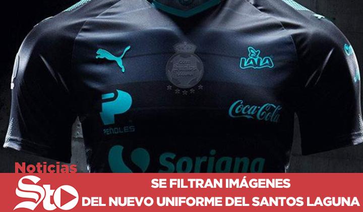 Así lucen las nuevas playeras de Santos Laguna d4be5ff172379