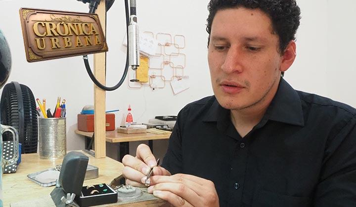 Iván Martínez muestra su pasión por el detalle en la joyería