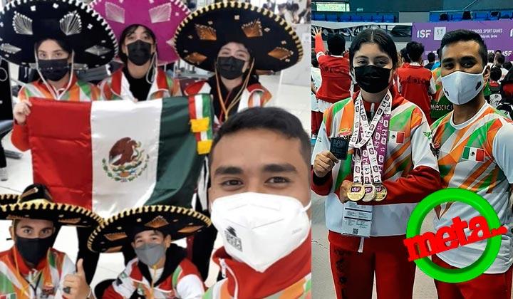 Coahuilenses se lucen durante competencia de Tae Kwo Do