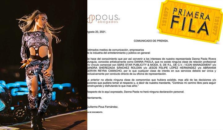 Danna Paola enfrenta nueva batalla legal por fraude