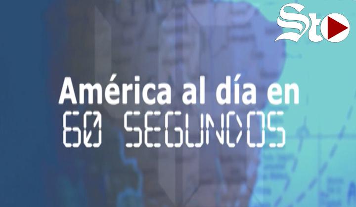 América al día en 60 segundos, miércoles 15 de septiembre