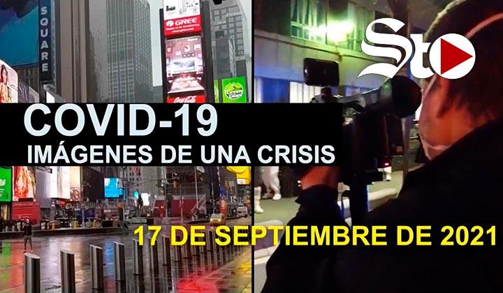 Imágenes de una crisis en el mundo del 17 de septiembre