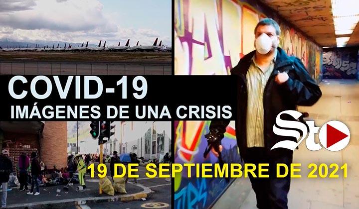 Imágenes de una crisis en el mundo del 19 de septiembre