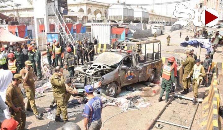 Ataque suicida en Pakistán se salda con al menos tres muertos