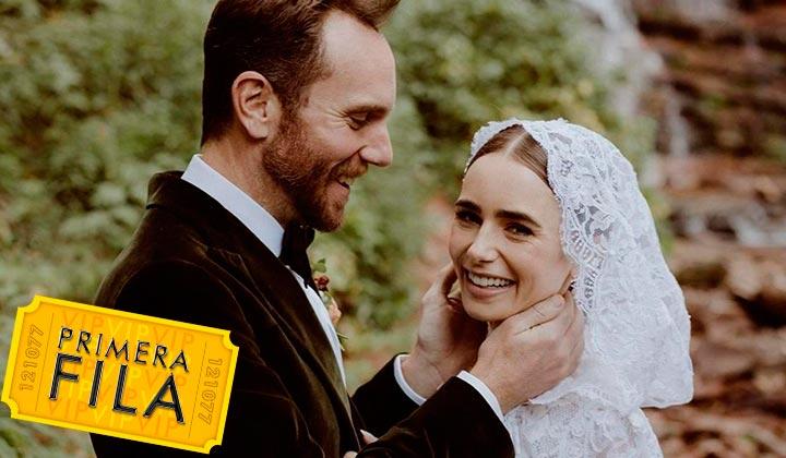 Lily Collins y Charlie McDowell se casan en Colorado