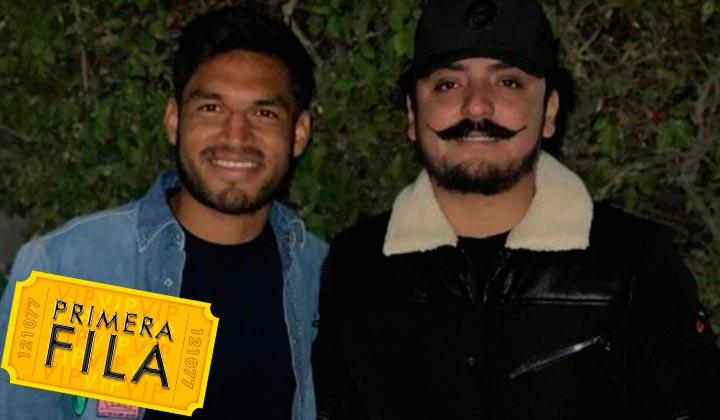 Eduardo Aguirre y Poncho Quezada posan para fotografía