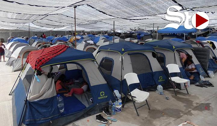 Llegada de migrantes haitianos satura albergues de Reynosa