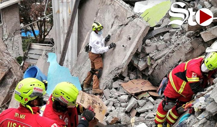 Continúan con labores de rescate en Chiquihuite