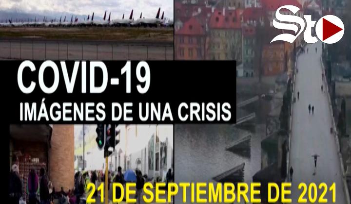 Covid-19 Imágenes de una crisis en el mundo del 21 de septiembre
