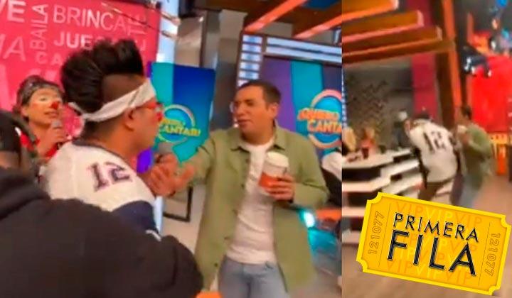 Oskarín de Los Destrampados intentó golpear a Horacio Villalobos