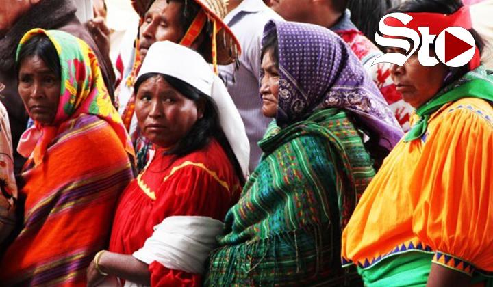Mujeres indígenas piden vencer al patriarcado