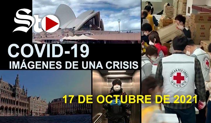 Imágenes de una crisis en el mundo del 17 de octubre