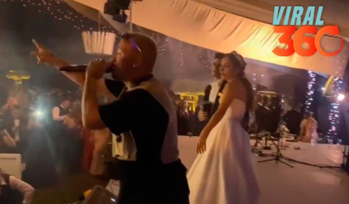 ¿J Balvin amenizó boda en Monterey?