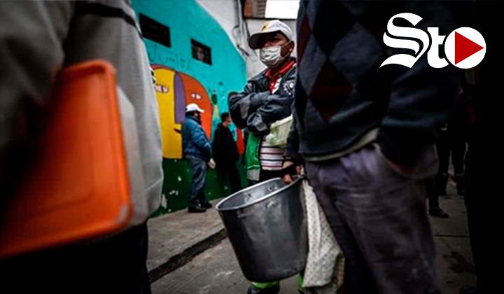 Marchas y ollas populares en Buenos Aires para exigir alimento