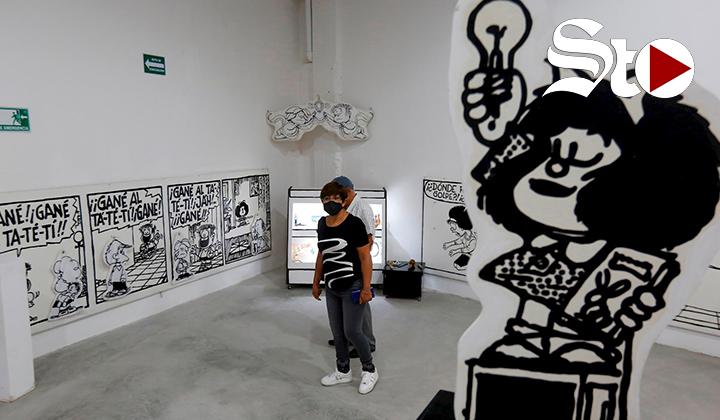 'El mundo según Mafalda', muestra roba miradas en Guadalajara
