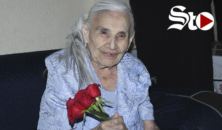 Doña 'Panchita'  una lagunera centenaria