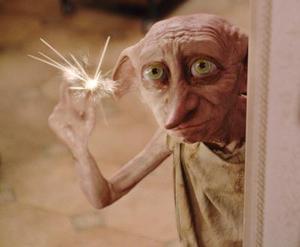 La casa del duende 'Dobby' se muestra en esta escena de la nueva película de Harry Potter  y la cámara de los secretos.