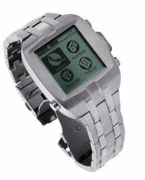 El PDA (organizador electrónico) en  reloj es uno de los nuevos estilos que estará en el mercado a mediados del 2003 con un costo de $200 a 300 dólares