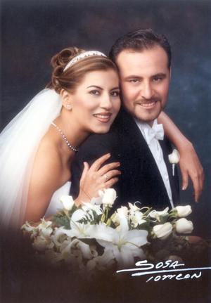 Ing. Felipe de Jesús Aguilar Reyes y C.P. Rebeca Rivera Ramírez contrajeron matrimonio  el 23 de noviembre de 2002