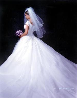Srita. María del Consuelo Flores Cordero contrajo matrimonio con el L.A.E. José Joaquín Franco Corrales el 12 de octubre de 2002