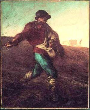 Su influencia queda patente en algunas de las obras que de ambos artistas que se muestran en la exposición como El sembrador, Esquiladores de ovejas, El leñador, o La familia de noche.